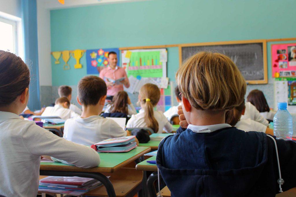 Gjatë mësimit
